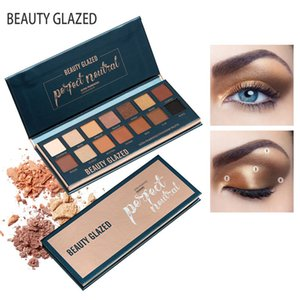 Beauty Glazed Brand Makeup Eyeshadow Pallete 14 Color Pigmented Matte Glitter Shades Eyeshadow Palette Beauty Cosmetics