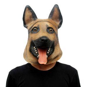 Máscara de Halloween de Natal Prom Wolf Dog Styling Mask Party máscara jogo festa