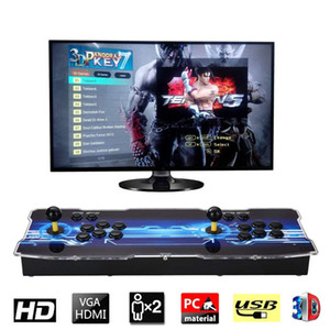 2019 [2199 3D HD Games] Pandora 7 3D 1280 * 1080P 32GB Arcade Video Game Console Box Arcade Machine Double Arcade Joystick مع Speaker yx2199
