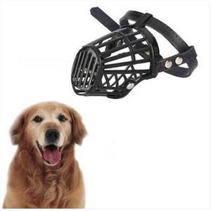 Cani di museruola di cane forte anti-mordente copertura di bocca cane cinghie regolabili cane addestramento obedience