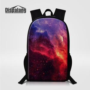 حقائب مدرسية للأطفال للبنات الفتيان الكون الفضاء نجوم المدرسية حقائب الكتب للأطفال الطلاب Mochila اجتماعيون Galaxy Sands Pack Rugtas