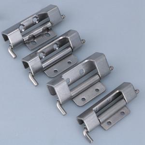 distribuição de dobradiça de porta de aço inoxidável Gabinete dobradiça parafuso PS Interruptor caixa de Controle caixa de rede instrumento armário gabinete parte de hardware
