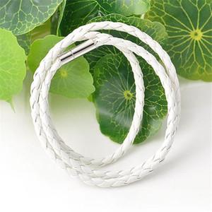 Hommes Multilayer Bracelet en cuir coréenne Tresse Twisted Bracelet chaîne corde Double Wrap Bracelet Hommes Femmes Bijoux en gros cadeau de Noël