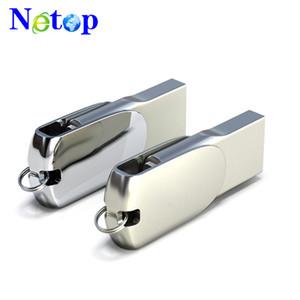 Netop 고품질 금속 16 기가 바이트 OTG USB 플래시 드라이브 마이크로 USB 펜 드라이브 메모리 스틱 Pendrive U 디스크 안드로이드 전화 실제 용량