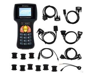 T300 Anahtar Programcı V17.8 Son Sürüm T 300 T-KOD Anahtar Transponder Anahtar Otomatik Teşhis Aracı Mavi Siyah Renk İspanyolca İngilizce Diller