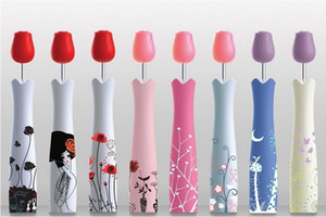 Nuevo Estilo Florero de Rosa Paraguas Creativo Botella de Vino Paraguas 3 Plegable Paraguas Soleado y Lluvioso Flor Paraguas Japoneses