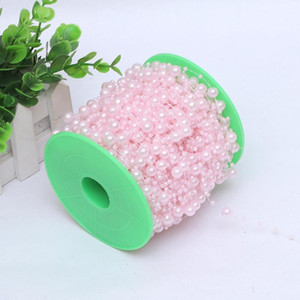 Леска для новобрачных тиара искусственный жемчуг бусины цепи гирлянда цветок свадебные аксессуары Diy сочетание форма головы украшения 2 5cy ii