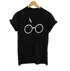 best shipping nouveau Tee shirt manches courtes fille harry potter T-shirt imprimé col rond avec bande dessinée.