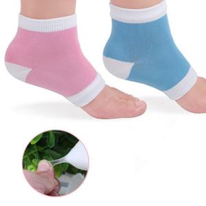 Support de talon Gel Chaussettes de talon Hydratant Spa Gel Chaussettes pour le pied fissuré Sèche peau dure Soins Livraison gratuite LX3872