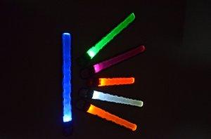 LED della fascia di schiaffo, Glow braccialetto, bracciale Glow in the dark led lampeggiante bracciale portato marcia crescere brakelet ruunning