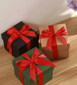 Spot Wholesale Five-color Apple Box Kraft Paper Christmas Eve Apple Box Gift Box Can Be Customized