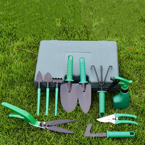 Garden Tool Set 10 Piece Garden Heavy Duty Tools Set Kit with Hard Storage Case Secateurs Pruning Saw Trowel Pruners Rakes best gift