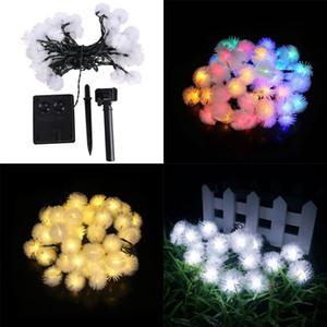 30 LED Kolye LED güneş lamba dize Işıklar Dekorasyon Noel Ağacı Parti Için Açık Bahçe Veranda Fener
