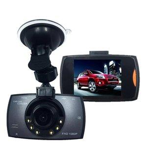 2.7 polegadas carro DVR câmera de visão noturna dashcam completo gravador de vídeo HD 2Cr dupla lente de 140 graus ângulo de visão ampla
