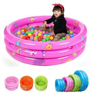 Kind inflatabl scherzt Poolbaby-Swimmingpoolkindaufblasbares unteres Sommerwasserspiel 4 Farben 4Sizes