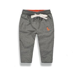2018 Autumn New Kids Pants Boys Casual Sports Pants Kids 옷면 Boys 긴 바지 Baby Boys 옷 Pants 2-8y