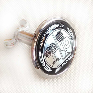 Insigne de capot de capot avant noir Emblème Affalterbach AMG C W204 W221 W220 W211 W222