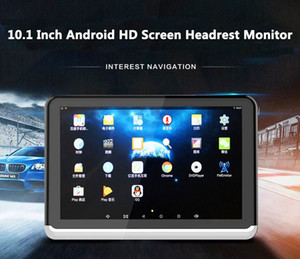 New Android 6.0 Car DVD Headrest Monitor Player 10.1 Inch HD 1080P Video With WIFI HDMI USB SD Bluetooth FM Transmitter