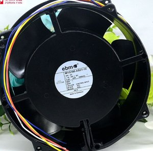 Ebm 20cm W1G180-AB31-10 24V 93W fan için% 100 Test Çalışma Mükemmel