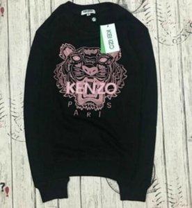 Yeni Marka Kaplan Kafası Hoodie Işlemeli Erkek Kadın Tişörtü Sonbahar Kış Unisex Hoodies Tasarımcı Casual Streetwear Jogger Eşofman