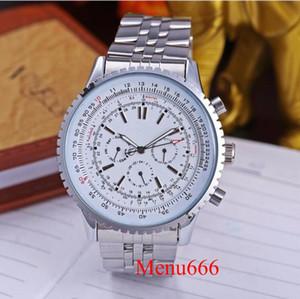2019 Nuevo llega la correa de acero inoxidable MOVIMIENTO AUTOMÁTICO Reloj de los HOMBRES seis agujas wen Impermeable Reloj de pulsera 3 estilo Envío gratis