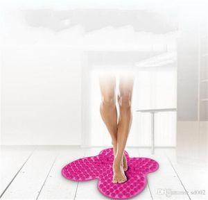 Ноги подошвенный массаж Pad расслабиться коврик для ног бабочка тип бытовые Toe пресс пластины подушки TPE много цветов удобный сенсорный 6 8tf ZZ