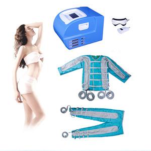 2019 Pressoterapia Máquina de Drenagem Linfática Sauna ems músculo pressotherapy emagrecimento desintoxicação botão ems emagrecimento corpo terno do corpo de emagrecimento