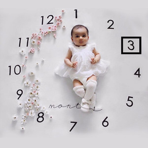 neonato fotografia sfondo puntelli foto del bambino fondali in tessuto coperta infantile Fotografia di foto coperta creativa
