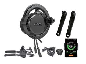 2018 neue Bafang BBS01B 36 V 250 Watt Ebike Motor mit C18 LCD bafang mittelantrieb Elektro Bike umbausätze
