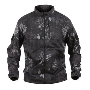 Shanghai Story Ultra-thin Breathable Sun Protection Clothing For Men Tactical Army Jacket Quick-drying Skin Coat