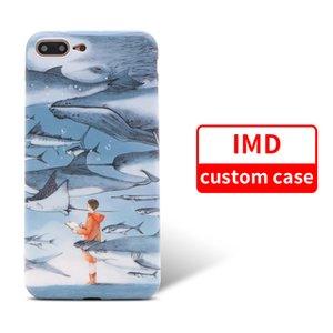 Benutzerdefinierte IMD Fall für iPhone 9 9 Plus Weiche TPU Malerei Telefon Abdeckung Silikon Telefon Shell für Samsung Note9 S9
