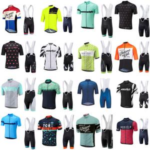 2018 Estate Morvelo Cycling Jersey maglia manica corta ciclismo Bike salopette set traspirante bicicletta da strada Abbigliamento Ropa ciclismo C2104