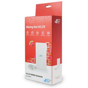 Sem Fio 4G LTE Antena 49dBi TS9 Conector 4G E3276 E398 K5150 ac754s ac763S ac790s ac810s modem Antena Frete Grátis