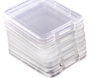 7200pcs Kleine Box-Schutz-Fall-Karte Container-Speicherkarte Boxs Werkzeug Kunststoff Transparent Lagerung Einfache Praktische Reuse tragen