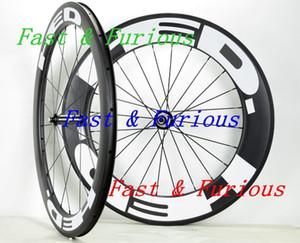 Yol Bisikleti genişliği Ücretsiz Kargo !! HED Karbon Tekerlekler 60mm 88mm Tek gariplik tübüler Yol Bisikleti Karbon Tekerlek 700C 23mm