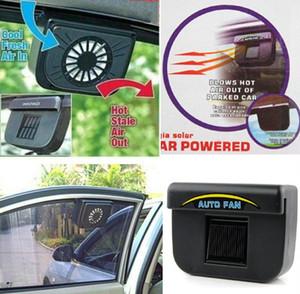 Oto Fan Araba Otomobil Egzoz Fanları Güneş Enerjili Havalandırma Sistemi Blower Park etmiş Gar Soğutucu Tutar Sıcak Hava LLFA