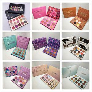뉴 Colourpop 메이크업 팔레트 디자이너 컬렉션 15colors 아이 섀도우 팔레트 8 스타일 DHL 배송