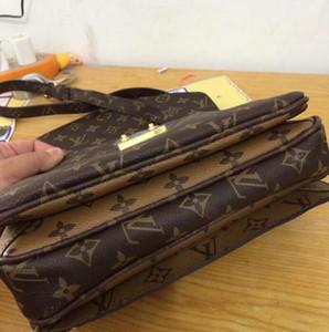 высокое качество натуральная кожа женская сумка pochette Metis сумки на ремне crossbody сумки Сумка
