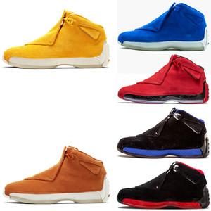Yeni tasarımcı adam basketbol Ayakkabıları 18 18 s Mavi sarı Toro spor spor ayakkabı ayakkabı Spor Ayakkabı iyi Atletik erkek spor ayakkabı ayakkabı Ücretsiz kargo