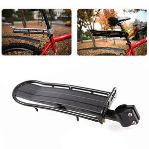Cremalheira de Carga bicicleta Ajustável Ciclismo Pannier Bagageira Racks de Bagagem de Bicicleta Durável Alumínio prateleira traseira 34 * 12 cm 480G 30