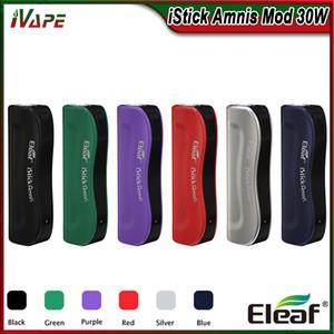 100% d'origine Eleaf iStick Amnis Batterie Intégrée 900mAh Mod 30W avec indicateur LED coloré Cigarette électronique Vape Mod Fit fit GS Drive Tank