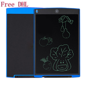 12 inch LCD Writing Tablet Electronic Blackboard Handwriting Pad Digital Drawing Board Painting Graphics Tablets For Children Kids Adults