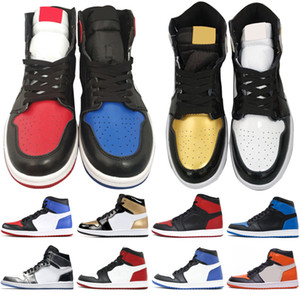 1s OG 1 top 3 hommes chaussures de basket-ball Hommage à la maison Banned Bred Toe Chicago Jeu Royal Blue Shattered Backboard Fragment hommes chaussures de sport
