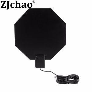 ATSC Ultradünne 1080i 1080P 720P HDTV-Flachantenne in Achteckform mit hoher Reichweite und UHF-Verstärkung