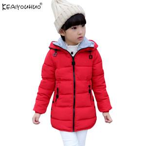 2017 Çocuk Kışlık Mont Moda Kız Ceketler Çocuk Giyim Kız Mont Çocuklar Için Pamuk Erkek Aşağı Sıcak Ceketler Kabanlar