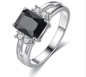 Comercio transfronterizo joyas especiales venta al por mayor anillo de cristal natural pareja anillo de circón accesorios de simulación