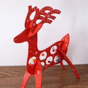 New Design Weihnachtsdekoration Christbaumschmuck Weihnachten Anhänger Weihnachtsdekorationen für Haus Navidad Elk Kerst Prop