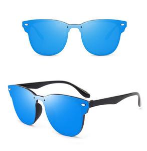 Markendesigner Sonnenbrille Männer Frauen Siamese Sonnenbrille Spike Cat Eye Sonnenbrille UV400 Linsen Mode Brille Männer Brillen 7 Farben 10 Stk