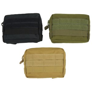 Outdoor Bumbag Appendage Pacchetto Edc Toolkit Molle Vice Commuter Bag Camouflage Tactics Pure Color Camping Equinment Pocket 10fy ii