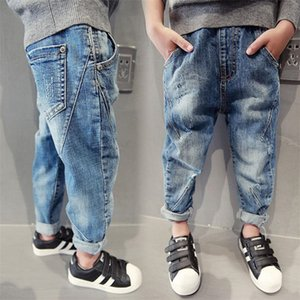 Selling, New year children gift Boys Pants, Boy fashion jeans, spring and autumn children jeans. for age: 5 7 9 11 13 14 years